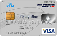 Flying Blue Japanese VISA card